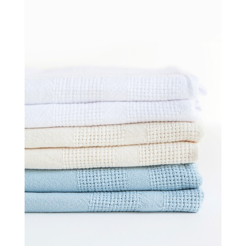 ORGANIC COTTON COT BLANKETS