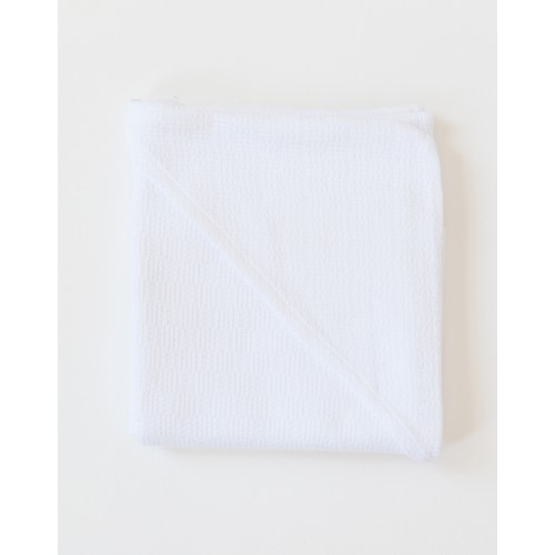 WILLOW WEAVE HOODED BABY TOWEL